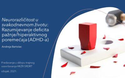 Razumijevanje deficita pažnje/hiperaktivnog poremećaja (ADHD-a)