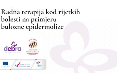 Obavijest za predavanje u sklopu Plana trajnog usavršavanja za 2021.g. u DEBRA, Društvo oboljelih od bulozne epidermolize